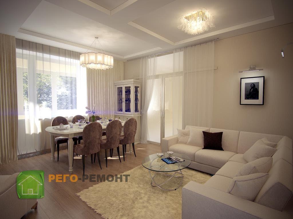 Ремонт квартиры под ключ, ремонт помещений и коттеджей