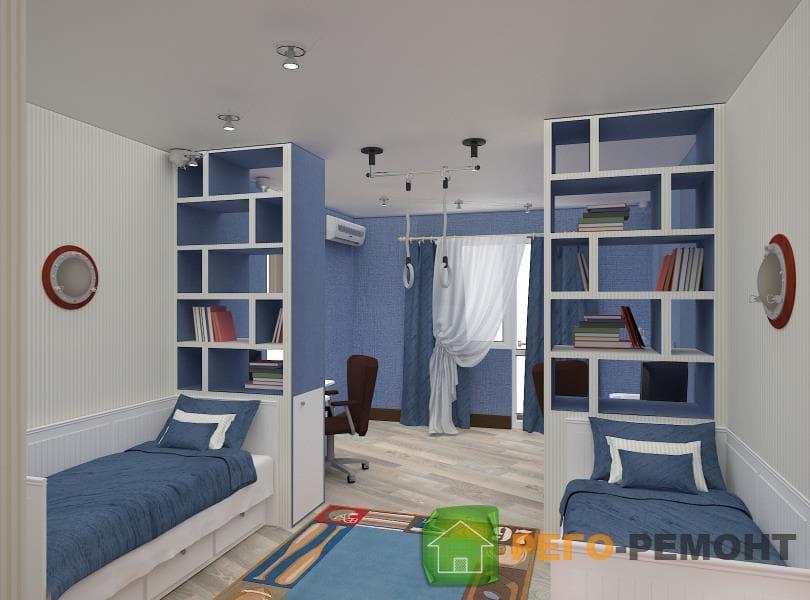 Спб дизайн детской комнаты